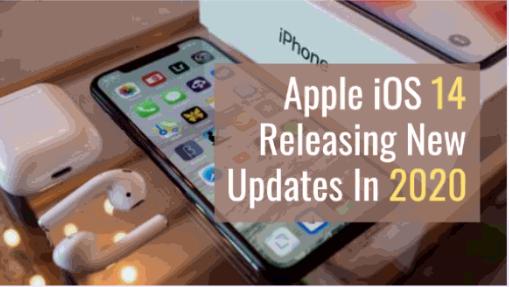 Apple iOS 14 Update Releasing In 2020