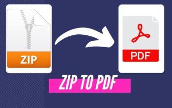 convert zip to pdf