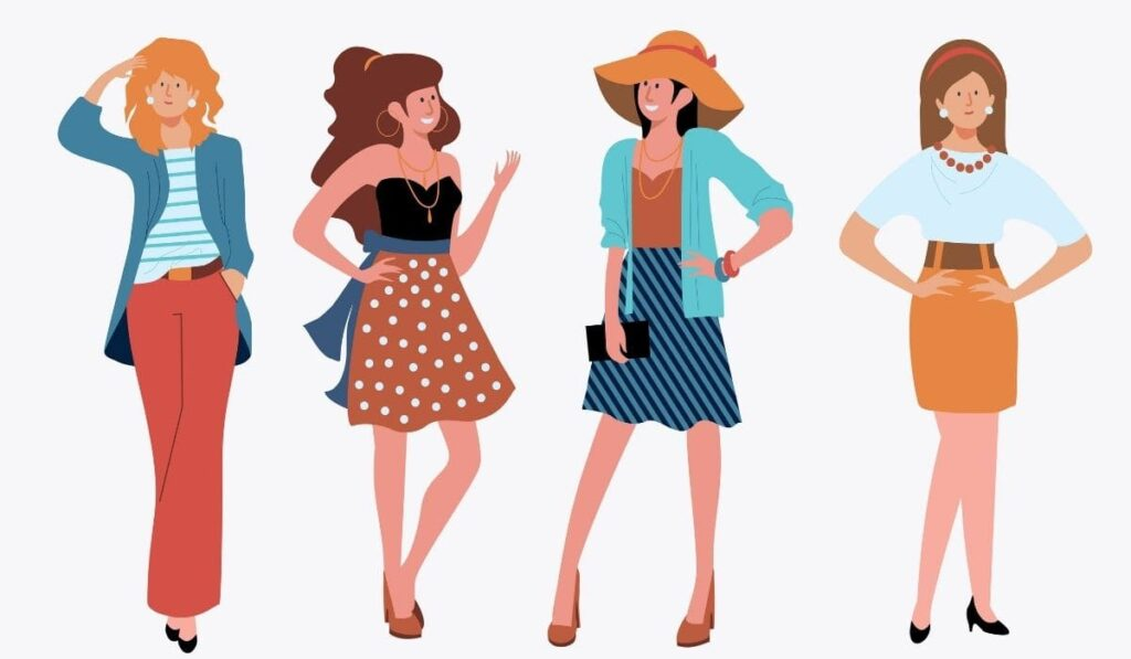 how to choose a skirt